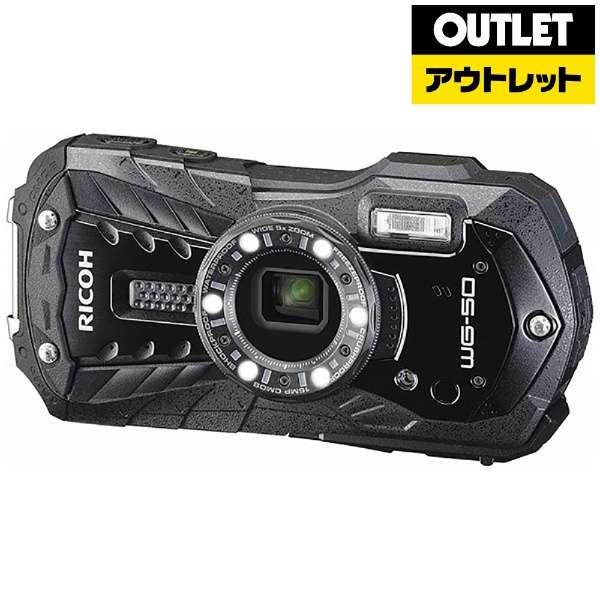 【アウトレット品】 コンパクトデジタルカメラ [防水+防塵+耐衝撃] WG-50 ブラック 【展示品】箱なし