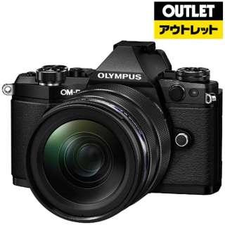 【アウトレット品】 ミラーレス一眼カメラ [12-40mm F2.8 レンズキット]OM-D E-M5 Mark II ブラック 【生産完了品】