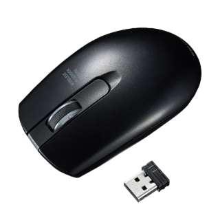 マウス ブラック MA-WIR132BK [IR LED /無線(ワイヤレス) /3ボタン /USB]