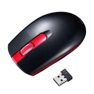 MA-WIR132R マウス レッド [IR LED /3ボタン /USB /無線(ワイヤレス)]