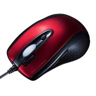 MA-IR125R マウス レッド [IR LED /6ボタン /USB /有線]