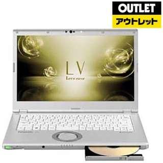 【アウトレット品】 14.0型ノートPC [Office・Win10 Pro・Core i5・SSD 256GB・メモリ 16GB・SIMフリー] CF-LV7HFBQR 【数量限定品】