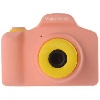 VisionKids HappiCAMU ハピカム 子供用カメラ ピンク