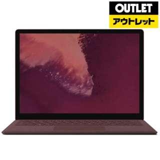 【アウトレット品】 Surface Laptop 2 [13.5型 /SSD 256GB /メモリ 8GB /Intel Core i5 /バーガンディ /2018年10月] LQN-00037 ノートパソコン サーフェス ラップトップ2 【外装不良品】
