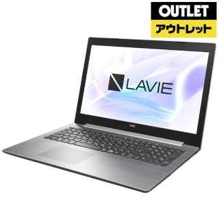 【アウトレット品】 15.6型ノートPC [Win10 Home・AMD E2・HDD 500GB・メモリ 4GB・Office付] LAVIE Note Standard  PC-NS10EK2S 【外装不良品】