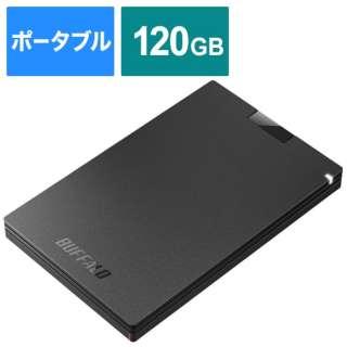 SSD-PG120U3-BA 外付けSSD ポータブル 120GB ブラック [ポータブル型 /120GB]