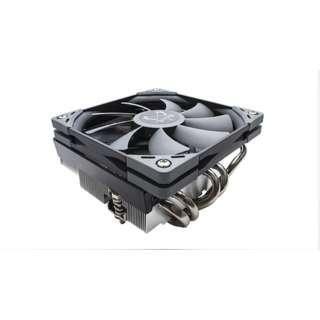 CPUクーラー 全高69mmのロープロファイル仕様トップフロークーラー BIG SHURIKEN3 SCBSK-3000 [Intelソケット775/1151/1150/1155/1156/1366/2011(V3)/2066、AMDソケットAM2/AM2+/AM3/AM3+/FM1/FM2/FM2+/AM4/ ※TR4は非対応]