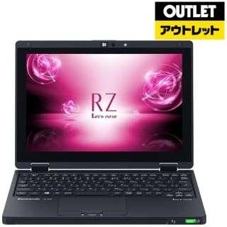 【アウトレット品】 10.1型ノートPC [Office付・Core i5・SSD 256GB・メモリ 8GB・SIMフリー] Let'snote  CF-RZ6QFMQR ブラック 【生産完了品】