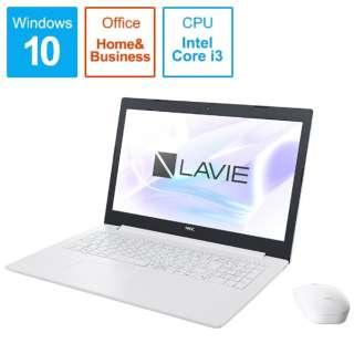 PC-NS300MAW ノートパソコン LAVIE Note Standard(NS300/MAシリーズ) カームホワイト [15.6型 /intel Core i3 /HDD:1TB /Optane:16GB /メモリ:4GB /2019年春モデル]