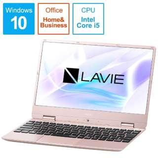 LAVIE Note Mobile(NM550/MAシリーズ) ノートパソコン メタリックピンク PC-NM550MAG [12.5型 /intel Core i5 /SSD:256GB /メモリ:8GB /2019年春モデル]