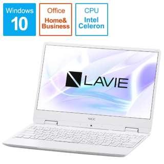 LAVIE Note Mobile(NM150/MAシリーズ) ノートパソコン パールホワイト PC-NM150MAW [12.5型 /intel Celeron /SSD:256GB /メモリ:4GB /2019年春モデル]