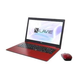 PC-NS300MAR-2 ノートパソコン LAVIE Note Standard(NS300/MAシリーズ) カームレッド [15.6型 /AMD Ryzen 3 /SSD:256GB /メモリ:8GB /2019年春モデル]