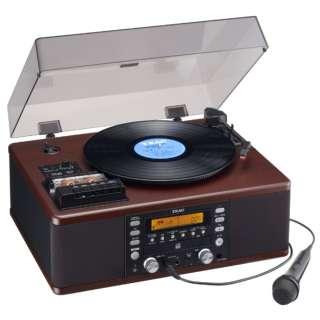 ターンテーブル/カセットプレーヤー付CDレコーダー(カラオケ機能付) LP-R560K ターンテーブルカセットプレーヤー付CDレコーダー [フォノイコライザー内蔵]