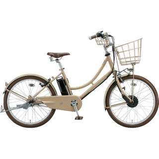 24型 電動アシスト自転車 イルミオ(E.X サンドベージュ/内装3段変速) IL4B49【2019年モデル】 【組立商品につき返品不可】