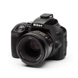 イージーカバー D3500  用ブラック 液晶保護フィルム付属 D3500-BK