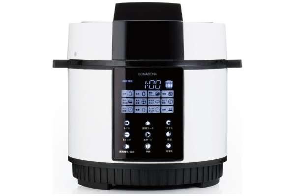 電気圧力鍋のおすすめ CCP「BONABONA」BD-PC71