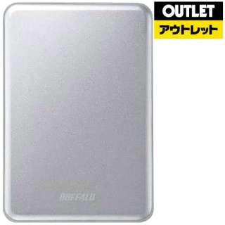 【アウトレット品】 外付けHDD [ポータブル型 /2TB] MiniStation HD-PUSU3-Cシリーズ  HD-PUS2.0U3-SC シルバー 【生産完了品】