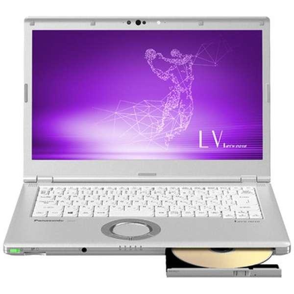 CF-LV7CDFQR ノートパソコン Let's note(レッツノート) LVシリーズ シルバー [14.0型 /intel Core i5 /SSD:128GB /メモリ:8GB /2019年春モデル]