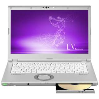 CF-LV7CFBQR ノートパソコン Let's note(レッツノート) LVシリーズ【LTE対応モデル】 シルバー [14.0型 /intel Core i5 /SSD:256GB /メモリ:16GB /2019年春モデル]