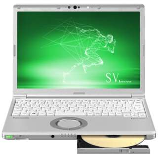 CF-SV8CDGQR ノートパソコン Let's note(レッツノート)  SVシリーズ シルバー [12.1型 /intel Core i5 /SSD:256GB /メモリ:8GB /2019年春モデル]