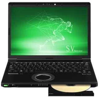 CF-SV8DDUQR ノートパソコン Let's note(レッツノート)  SVシリーズ ブラック [12.1型 /intel Core i7 /SSD:256GB /メモリ:8GB /2019年春モデル]