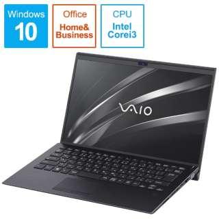 VAIO SX14 ノートパソコン ブラック VJS14190511B [14.0型 /intel Core i3 /SSD:128GB /メモリ:4GB /2019年1月モデル]