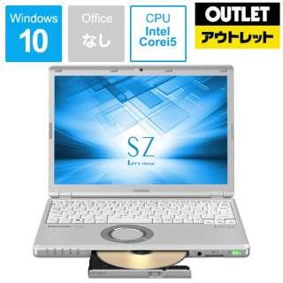 【アウトレット品】 12.1型ノートPC[Core i5・SSD 256GB・メモリ 8GB] レッツノート CF-SZ6RDQVS 【展示品】