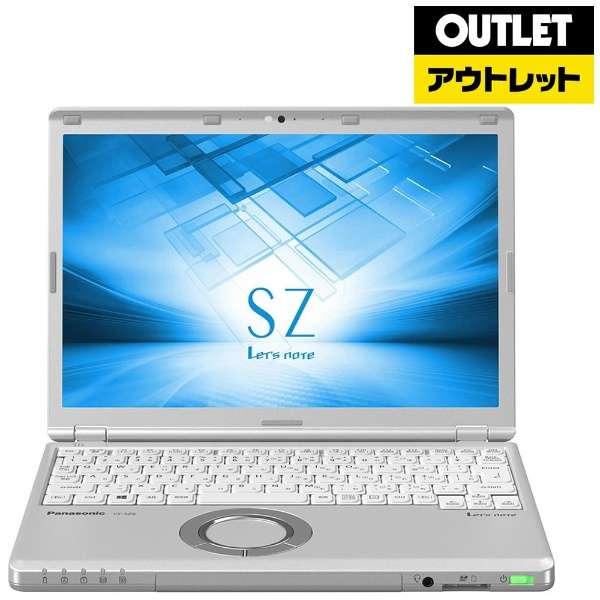 【アウトレット品】 12.1型ノートPC[Win10 Pro・Core i5・SSD 256GB・メモリ 8GB] レッツノート CF-SZ6RDYVS 【展示品】箱なし