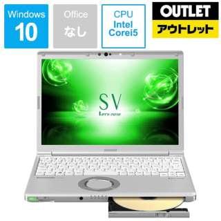 【アウトレット品】 12.1型ノートPC[Core i5・SSD 256GB・メモリ 8GB] レットノート CF-SV7TDEVS 【展示品】