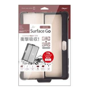 SurfaceGo(2018)用衝撃吸収ケース ブラック