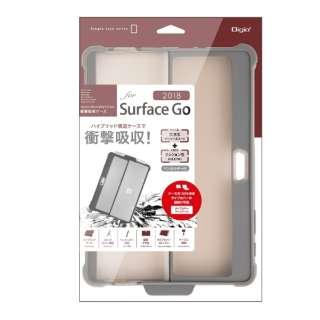 SurfaceGo(2018)用衝撃吸収ケース グレー