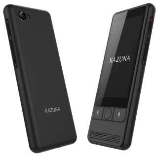 KAZUNA eTalk5 ブラック 2年SIM同梱版