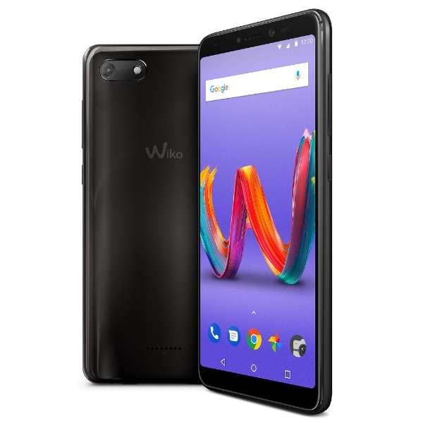 Wiko Tommy3 Plus ANTHRACITE MIRROR「W-V600」5.45型 メモリ/ストレージ:2GB/16GB micro SIM ×2 DSDS対応 ドコモ/au/ソフトバンクSIM対応 SIMフリースマートフォン ミラー
