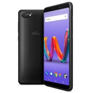 Wiko Tommy3 Plus ANTHRACITE MATTE「W-V600」5.45型 メモリ/ストレージ:2GB/16GB micro SIM ×2 DSDS対応 ドコモ/au/ソフトバンクSIM対応 SIMフリースマートフォン ブラック