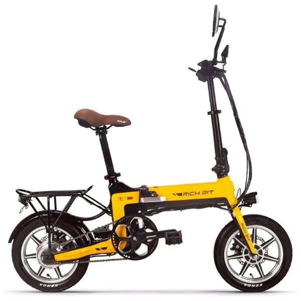 電動ハイブリッドバイク RICHBIT Smart e-Bike(イエロー) TOP619 【沖縄と離島配送不可/お客様組み立て要】