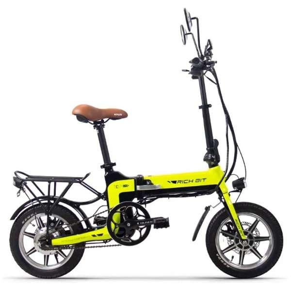 電動ハイブリッドバイク RICHBIT Smart e-Bike(グリーン) TOP619 【沖縄と離島配送不可/お客様組み立て要】