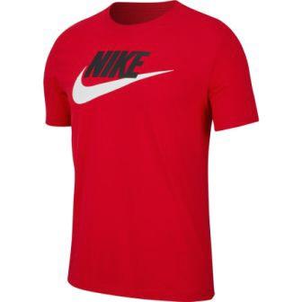 ナイキ メンズスポーツウェア 半袖シャツ フューチュラ アイコン S S Tシャツ AR5005-657 メンズ ユニバーシティレッド ブラック ホワイト