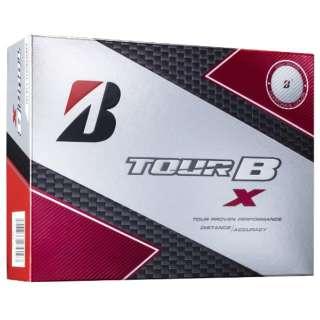【スリーブ単位販売になります】ゴルフボール TOUR B X CORPORATE COLOR EDITION《1スリーブ(3球)/ホワイト》 8BCXJ