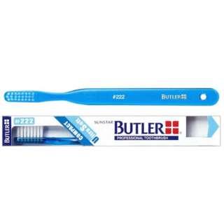 BUTLER(バトラー) 歯ブラシ #222 コンパクト やわらかめ