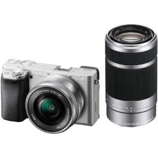 ILCE-6400Y-S ミラーレス一眼カメラ α6400 シルバー [ズームレンズ+ズームレンズ]