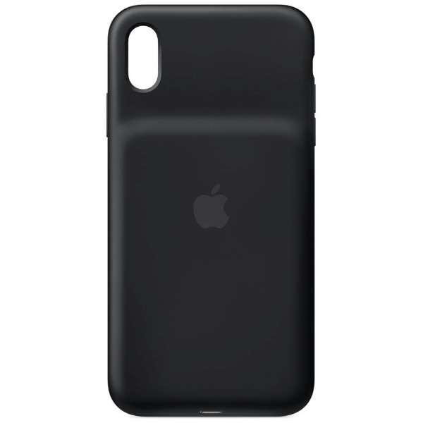 【純正】iPhone XS Max用 Smart Battery Case MRXQ2ZA/A ブラック