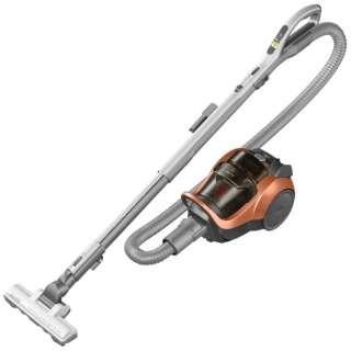 TCEJ1J-D サイクロン式掃除機 Be-K(ビケイ) オレンジ [サイクロン式]