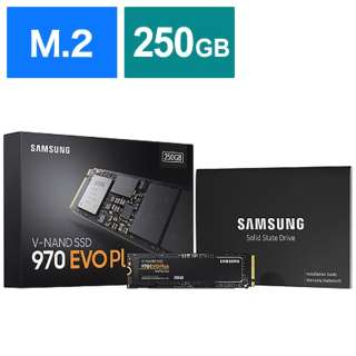 MZ-V7S250B/IT 内蔵SSD 970 EVO Plus [M.2 /250GB] 【バルク品】