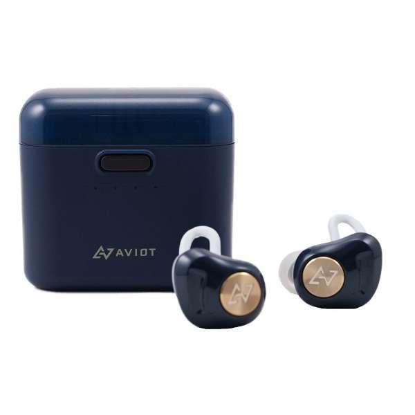 フルワイヤレスイヤホン ネイビー TE-D01d-NV [リモコン・マイク対応 /ワイヤレス(左右分離) /Bluetooth ]