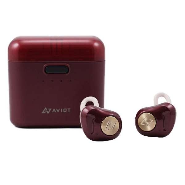 フルワイヤレスイヤホン ダークルージュ TE-D01d-DR [リモコン・マイク対応 /ワイヤレス(左右分離) /Bluetooth ]