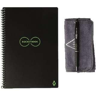 EL02N ロケットブック 手帳サイズ ブラック