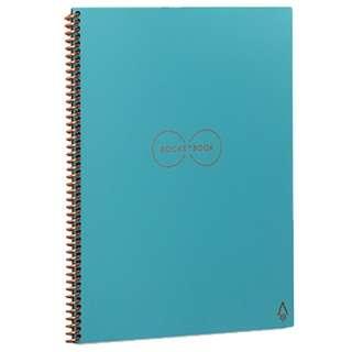 EL02B ロケットブック 手帳サイズ ブルー