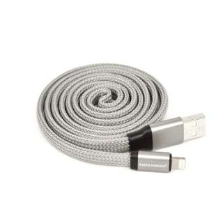 ライトニングUZUMAKI USBケーブル 2.4A 1m R10CAAL2A02SV シルバー [1.0m]