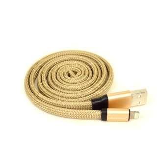 ライトニングUZUMAKI USBケーブル 2.4A 1m R10CAAL2A02GD ゴールド [1.0m]