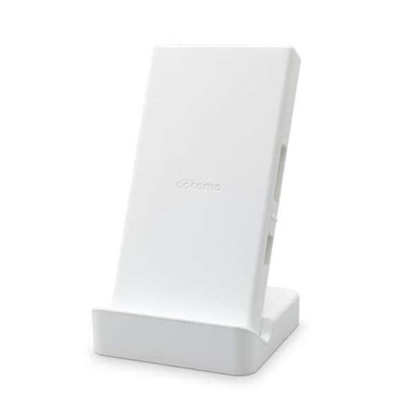 【NTTドコモ純正】ワイヤレス充電器04 ホワイト